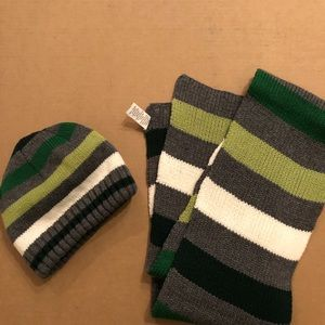 2 Piece Boys Scarf and Hat set